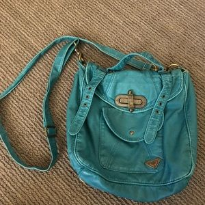 Blue ROXY purse